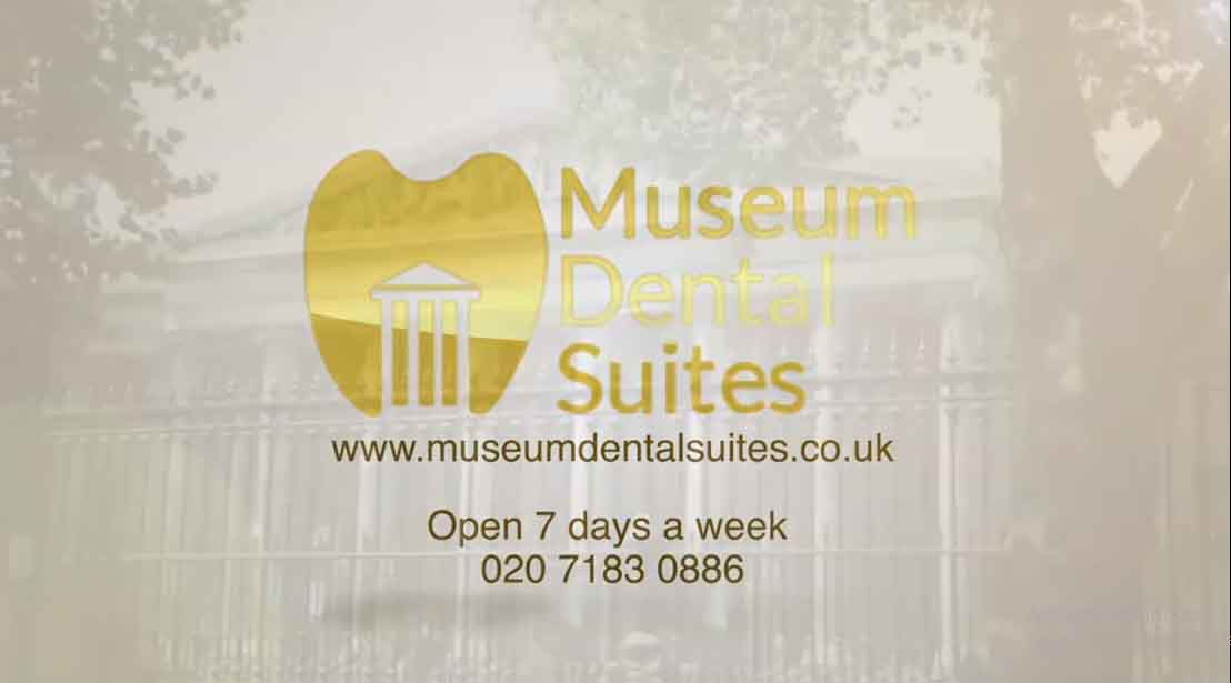 Museum Dental Suites, offer's complete cosmetic and general dentistry in Central London