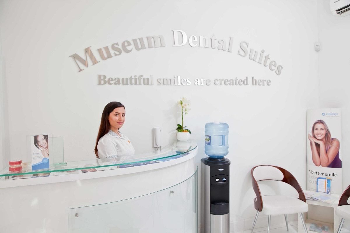 Reception of Museum Dental Suites