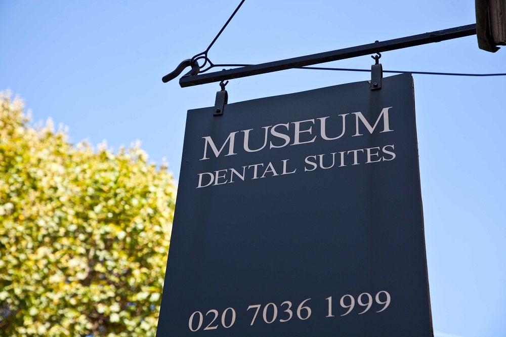 Sign Board of Museum Dental Suites
